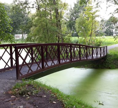 Joure, voetgangersbrug