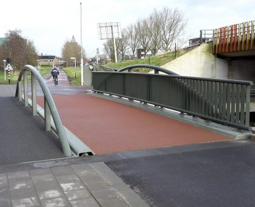Sneek, fiets- en voetgangersbrug