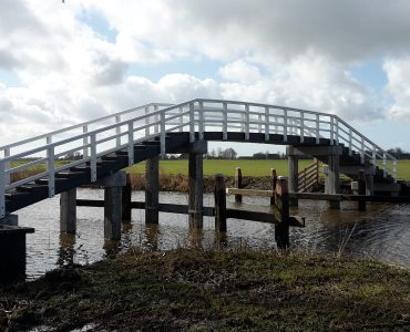 Swette, voetgangersbrug
